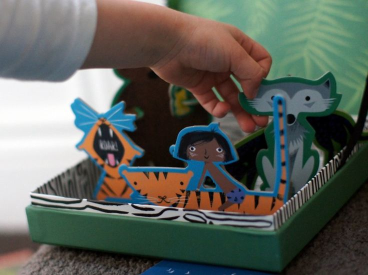 BabyLit board books now come with a playset - for The Jungle Book, Pride & Prejudice and Moby Dick.