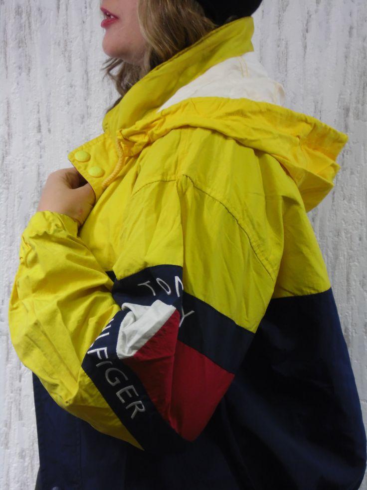 Vintage 70s Windbreaker Jacket  Tommy Hilfiger by SweetSpicyVintage on Etsy
