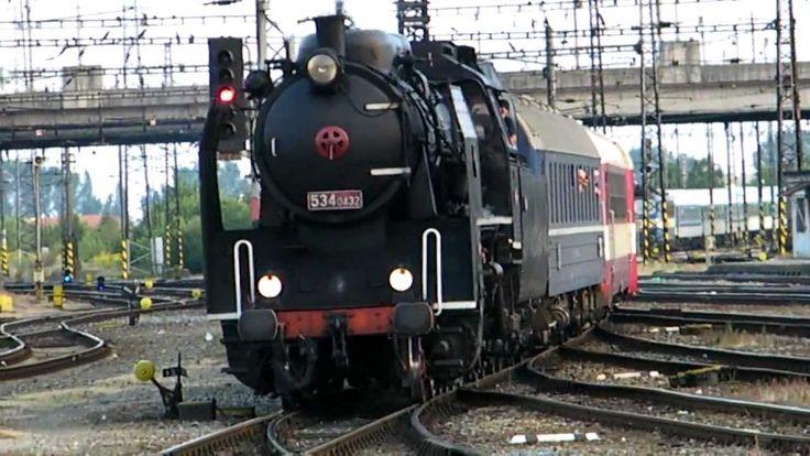 Olomouc hl.n. i parní vlak