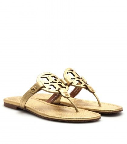 #ToryBurch - Miller leather sandals