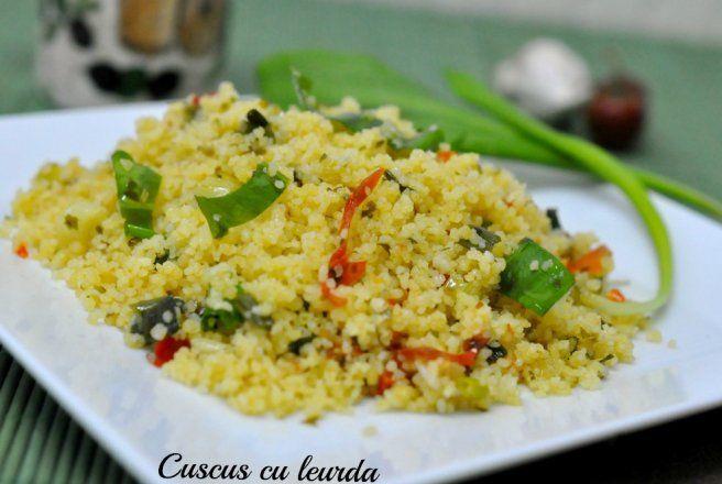 Retete Culinare - Cuscus cu leurdă