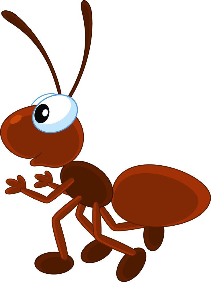 Нарисованная картинка муравей