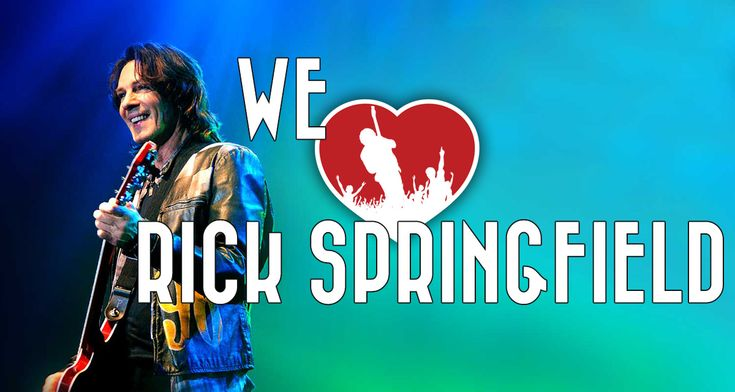 Rick Springfield news, information, tour dates and videos. We Love Rick Springfield is the ultimate fan portal for all things Rick Springfield.