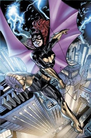 """So after the launch of the New 52, DC has been accused of increased sexism in comics. Whereas I find it true (i.e. Wonder Woman is Superman's """"sidekick""""), I am really impressed by the muscle to breast ratio in the new Batgirl series. I really love that her chest and hips aren't out of control, and that her quads and biceps ARE."""