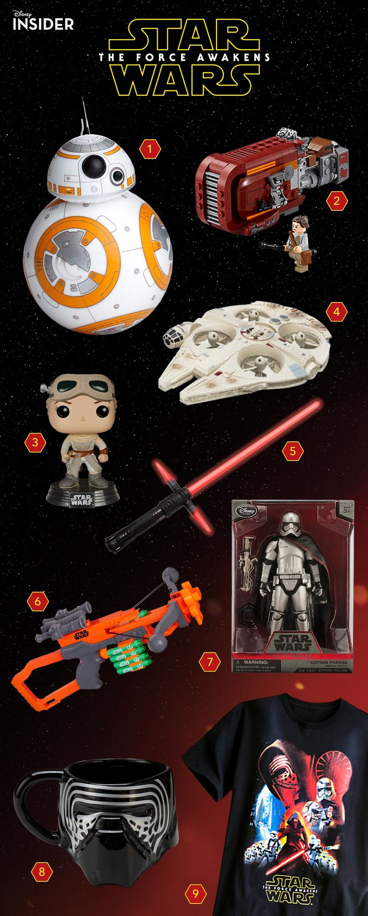 1000 images about bb 8 models and toys on pinterest for Merchandising star wars