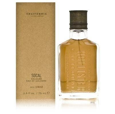 Hollister California SoCal FOR MEN Eau De Cologne - 50 ml EDC Spray- my fave ever Scent! Wear it every single day.