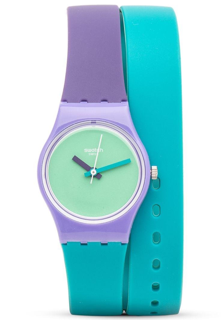 Reloj Swatch Fun In Pink Verde