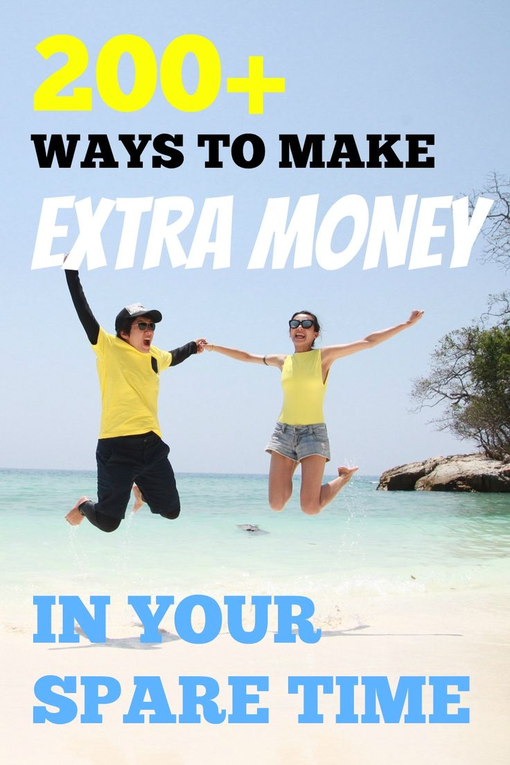200+ Ways To Make Extra Money In Your Spare Time. I love this guys site, he has a lot of great ideas and interviews with a lot of interesting entrepreneurs.