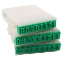 2015 hot nieuwe uk afneembare 26-letters engels alfabet plastic stempel set(China (Mainland))