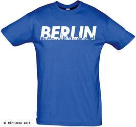 Männer Geschenk Berlin T-Shirt · blau