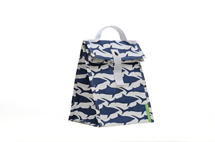lunchtote - lunchtasje (navy shark)