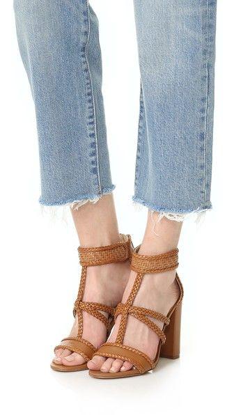 Sam Edelman Yordana Woven Leather Sandals