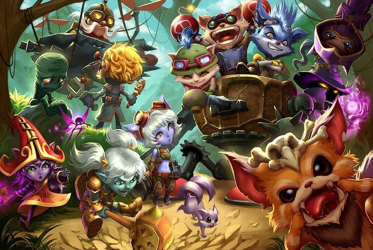 La naissance du mal : Teemo   League of Legends