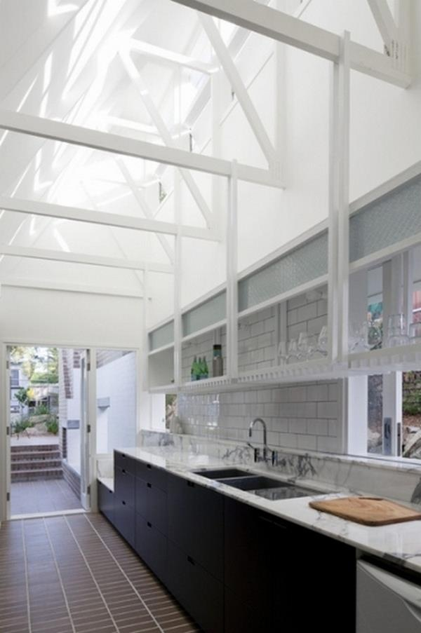 Black and White in Brisbane - a traditional 'Queenslander' is introduced to the 21st century. You can view the full album of 19 images and the story across at our site on http://theownerbuildernetwork.com.au/renovations-and-additions/black-and-white-in-brisbane/