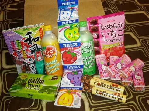 Japanese Snacks from Asian Food Grocer (click for post & video)