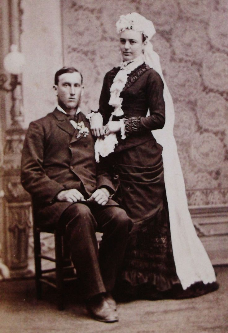 ANTIQUE CDV PHOTO WEDDING PORTRAIT OF A LOVELY BRIDE & GROOM RED WING MINNESOTA | eBay