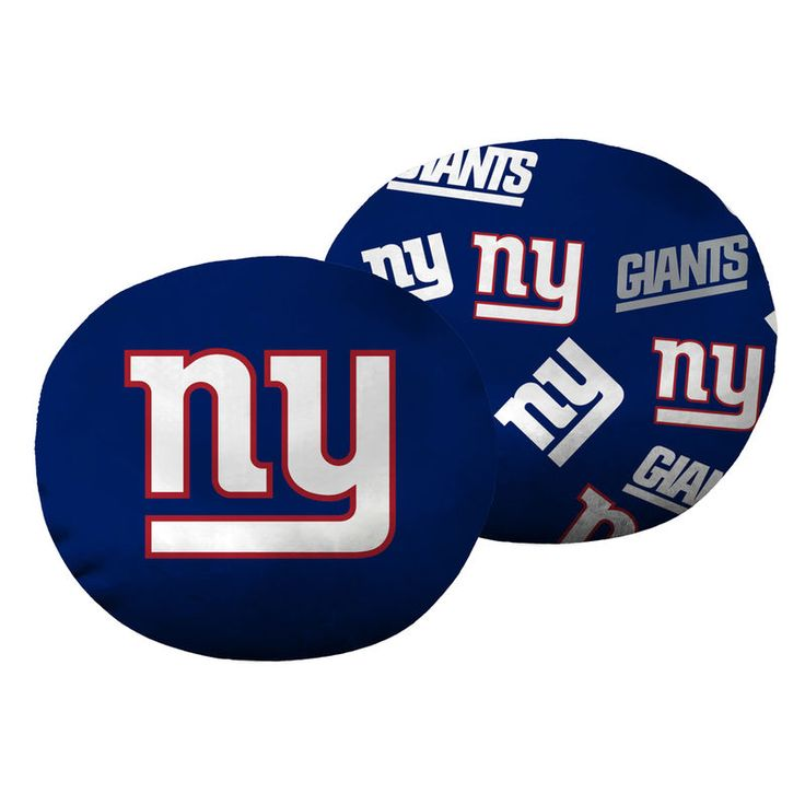 """New York Giants The Northwest Company 11"""" Cloud Pillow"""