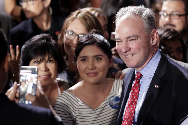 Tim Kaine, in Historic All-Spanish Speech, Says Choice Is 'Crystal Clear' for Latinos