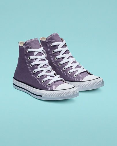 9aac31ae12 Chuck Taylor All Star Seasonal Colors High Top Moody Purple ...