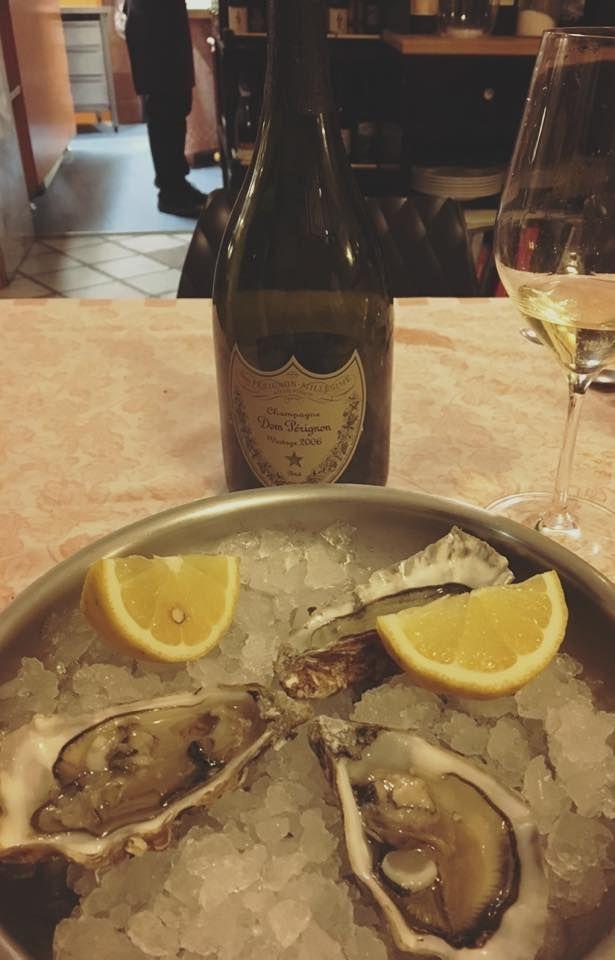 #Ostriche e #Champagne