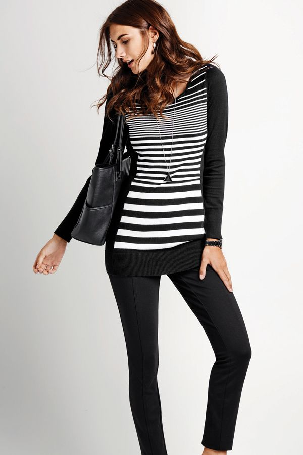 Sassy stripes #reitmans