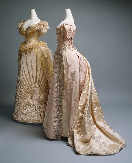 Worth evening gowns