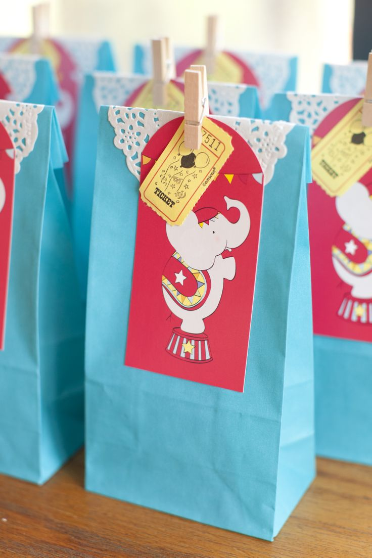 Paper Party Bag ~ Turquoise | Auckland | North Shore | NZ | Miss Mouse