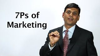 8. 7Ps of Marketing / Marketing Mix for Services  Marketing Lecture by Prof. Vijay Prakash Anand