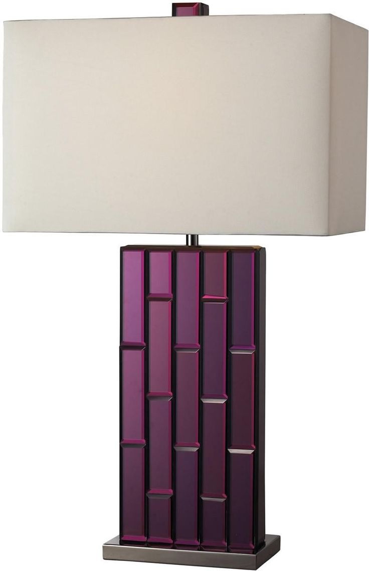 Best 25 purple table lamp ideas on pinterest purple lamp shade 0 03252027h avalon 1 light table lamp purple mirror and geotapseo Gallery