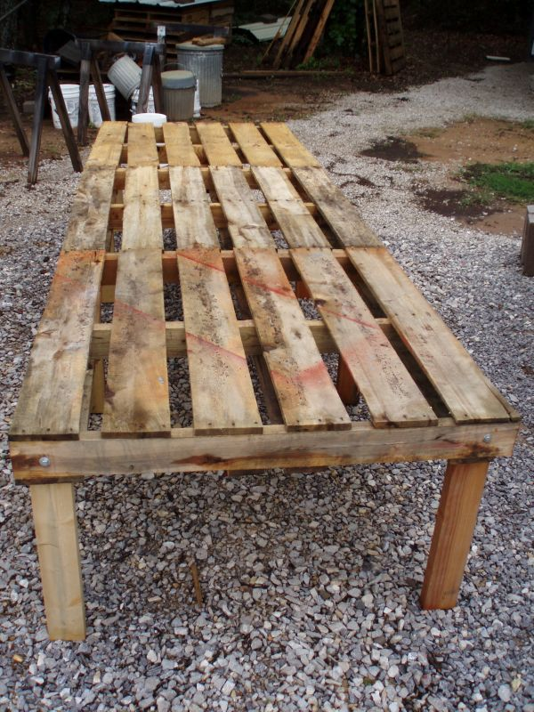 Making A Chicken Coop Out Of Old Pallets...                                                                                                                                                                                 More