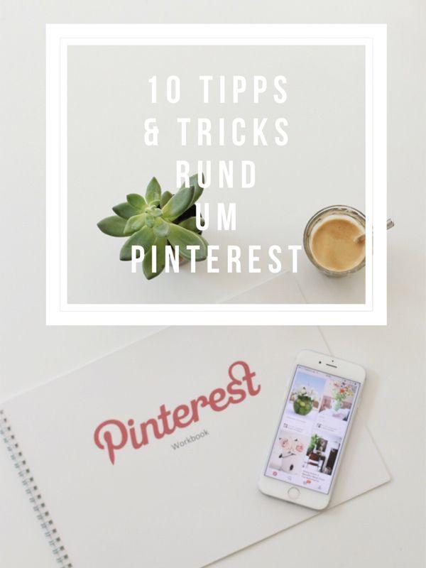 10 tipps & tricks rund um pinterest