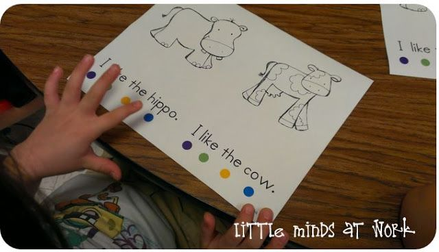 Dots for 1:1 correspondence