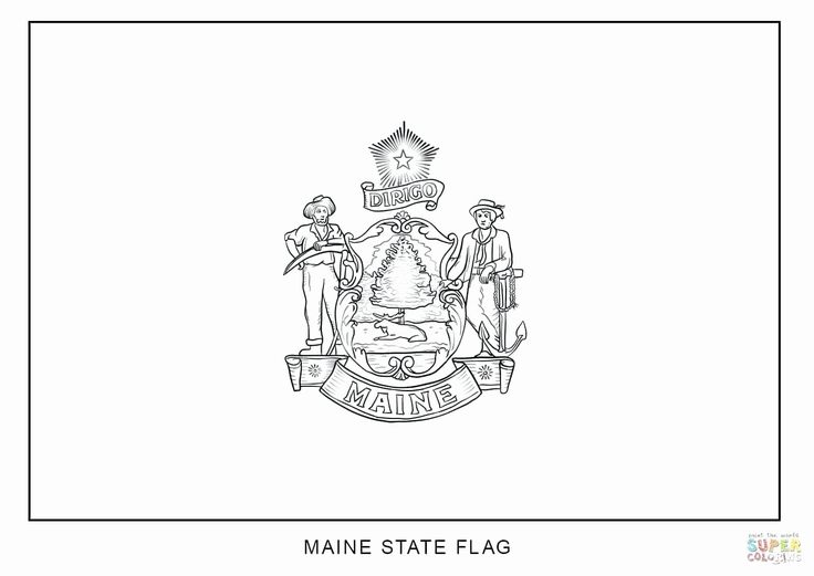 Louisiana state flag coloring page beautiful delaware