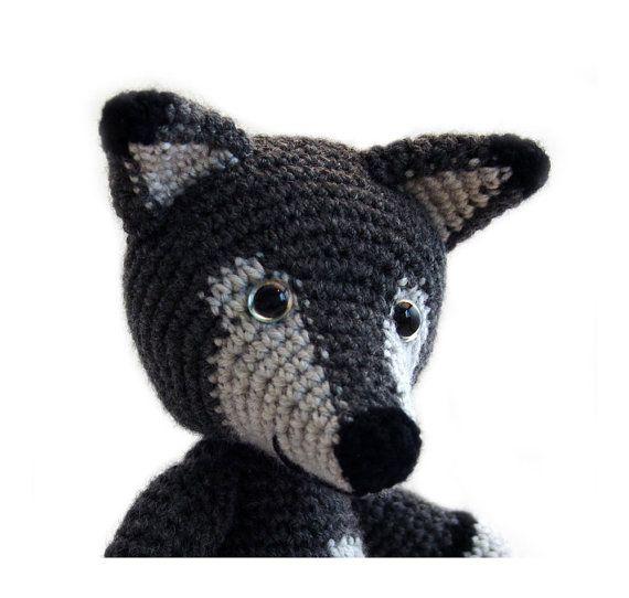 Amigurumi Patterns Wolf : Crochet pattern wolf amigurumi instant download pdf