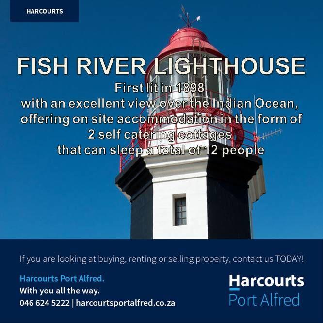 Fish River Lighthouse #PortAlfredandSurrounds #ThingsToDoInPortAlfred