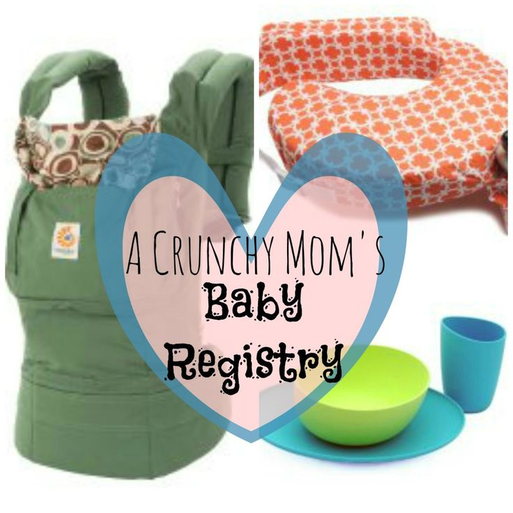 "Whether you plan on attachment parenting or know someone who's ""all natural"". Crunchy Mama's Baby Registry - My Mundane and Miraculous Life"