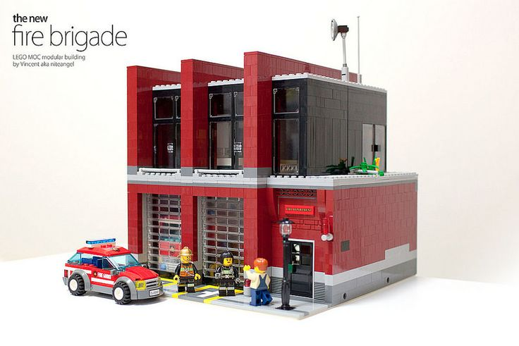 Hi everyone! I got this interesting idea of a fire station some time ago, and built this in two weeks, the fastest building I have done so far. I have no in...
