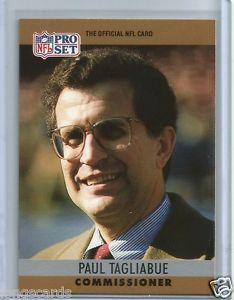 1990 Pro Set NFL Commissioner Paul Tagliabue | eBay