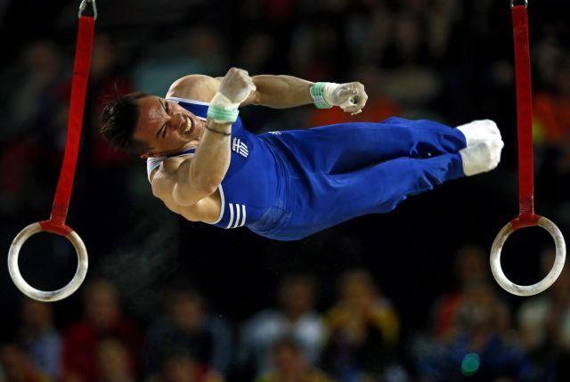 Παγκόσμιος πρωταθλητής στους κρίκους ο Νεοσμυρνιώτης Λευτέρης Πετρούνιας