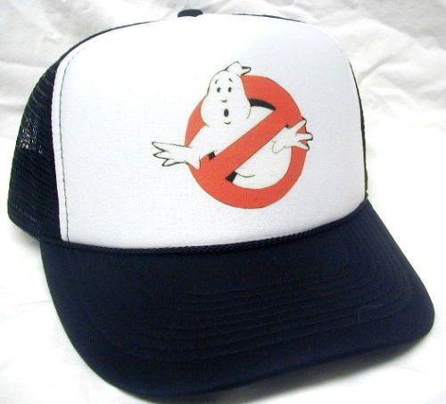 2293df27 Ghostbusters Costume Hat Easy & Quick Halloween low cost Adjustable NEW  Black