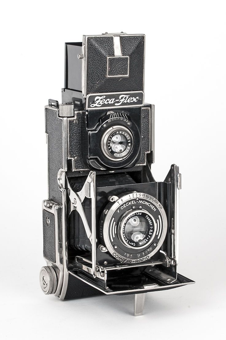 Zeca Flex Folding Twin Lens Reflex Camera with Zeiss Tessar Lens TLR | eBay