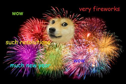 Happy New Year from Doge