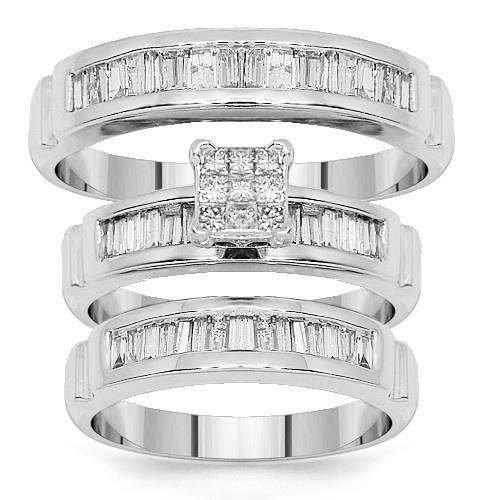 85 best Diamond Engagement Ring Sets images on Pinterest Diamond
