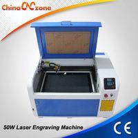 USB Interface Desktop CO2 4060 Laser Engraving Cutting Machine