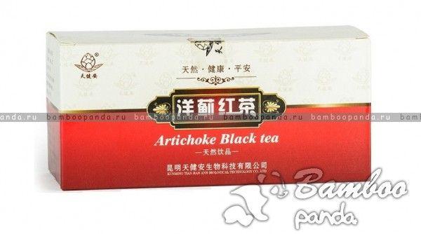 Артишок для восстановления функций организма (Artichoke Black Tea)