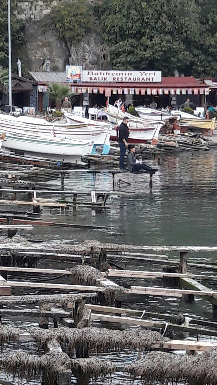 Balıkçı barınağı AMASRA