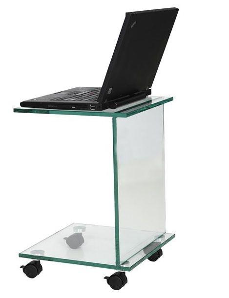 Helderr_glas_mini_laptop_tafel_wielen_design_ipad