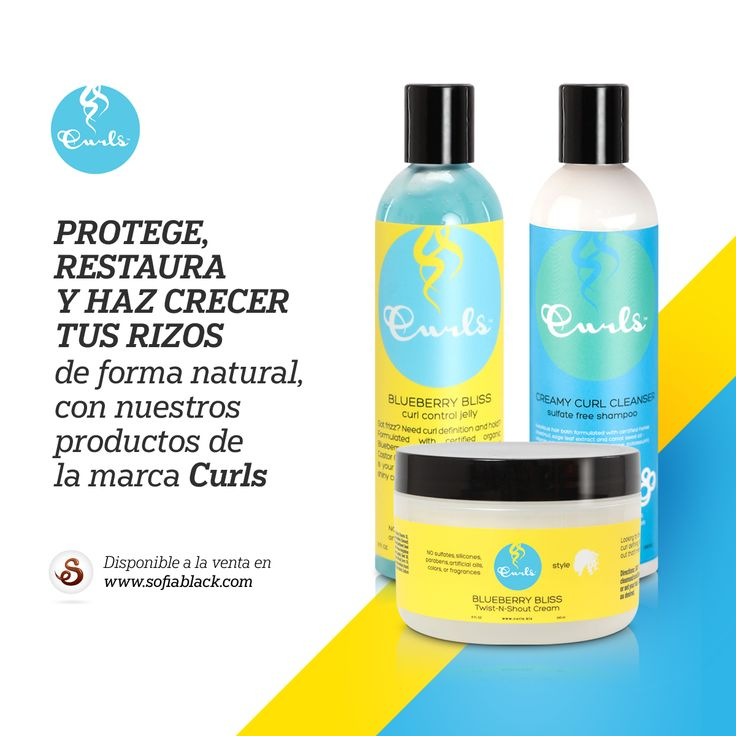 ~ Protege, restaura y haz crecer tus rizos con los productos orgánicos de la marca Curls. Hidrata, da brillo y flexibilidad, desenreda sin esfuerzo, evita el encrespamiento, fijación duradera, textura muy liviana. Para todo tipo de rizos, para pelo fino, normal o grueso. ~ Sin Sulfatos / Sin Siliconas / Sin Parabenos / Sin Aceites Artificiales / Sin Colorantes / Sin Aromas Añadidos / No Testado En Animales ~ SofiaBlack.com