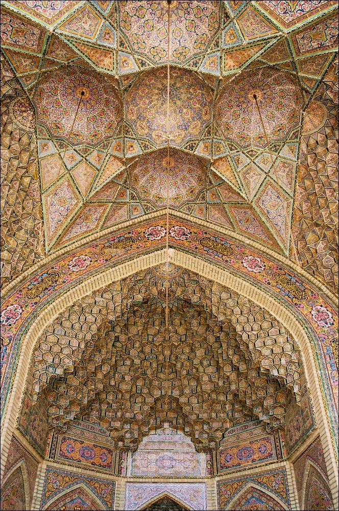 Nasir-ol-Molk Mosque in Shiraz, Iran | ©k_man123, via flickr #photography #travel #sacred