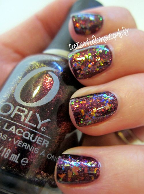 Orly Rococo A-Go-Go Finger Paints Twisted